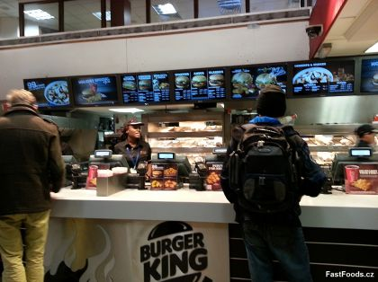 Burger King Waterloo Station London